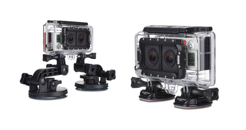 New GoPro Dual Hero 3D System!